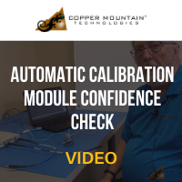 Copper Mountain Technologies: Automatic Calibration Module Confidence Check