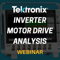 Tektronix: The Importance of Inverter Motor Drives and How to Easily Analyze Them