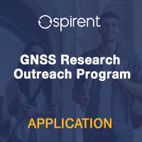 Spirent Education GNSS Research Outreach Program Application