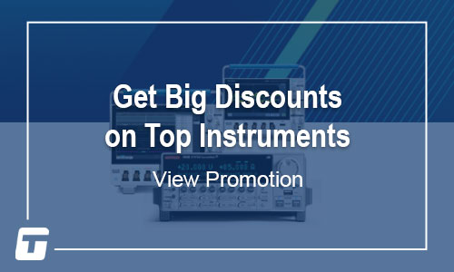 Tektronix & Keithley: Get the Best for Your Bench at 15% off - Offer Ends December 31, 2020