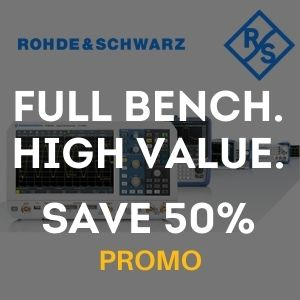 Rohde & Schwarz: Full Bench. High Value.  Save Over 50% - Offer Ends March 31, 2021