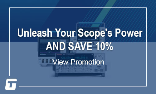 Tektronix: Unleash Your Scope's Power AND SAVE 10% - Offer Ends March 31, 2021